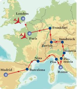 Promociones europa viajes para todos paipa tours ltda for Tour de barcelona a paris